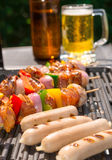 Summer grill party Stock Photography