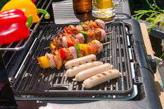 Summer grill party. A fresh summer grill party Royalty Free Stock Image