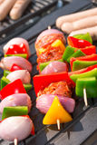 Summer grill party. A fresh summer grill party Stock Image