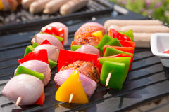 Summer grill party Royalty Free Stock Photos