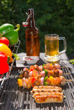 Summer grill party Royalty Free Stock Photo
