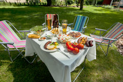 Summer grill time Royalty Free Stock Photos