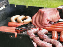 Summer Grilling Royalty Free Stock Photography