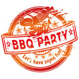 Summer grilling and barbecue party Stock Photos