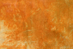 Summer Grunge. Yellow and orange grunge textured wall Stock Photography