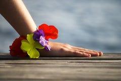 Summer hand Stock Image