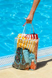 Summer Handbag Royalty Free Stock Photo