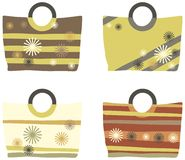 Summer handbags Stock Images