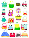 Summer handbags Royalty Free Stock Photo