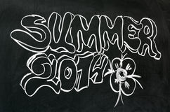 Summer 2014 Royalty Free Stock Image