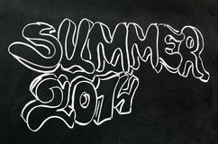 Summer 2014 Royalty Free Stock Photography