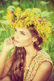 Summer happiness Stock Images