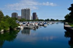 Summer Harbor Stock Photography