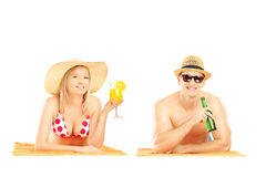 The summer has officially started Royalty Free Stock Photo