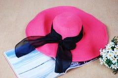 Summer hat Royalty Free Stock Photos