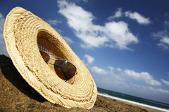Summer Hat Royalty Free Stock Photos