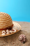 Summer hat Stock Photography