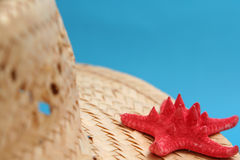 Summer hat Stock Image