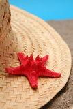Summer hat Stock Images