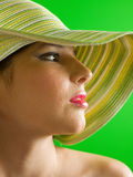 Summer hat Stock Photos