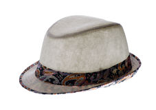 Summer hat with a brim Stock Images