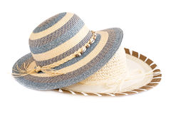 Summer hats Stock Image
