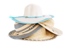 Summer hats Royalty Free Stock Photo