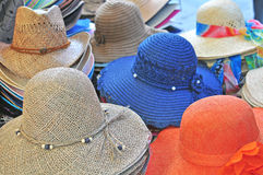 Summer hats Stock Photo