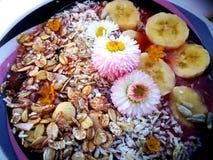 Summer healthy breakfast Royalty Free Stock Photo