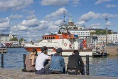 Summer in Helsinki Stock Image
