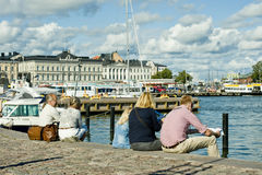 Summer in Helsinki Royalty Free Stock Images