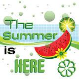 The summer is here Royalty Free Stock Images