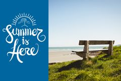 Summer is here Stock Image