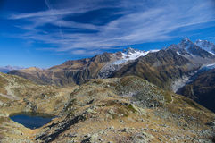 Summer high mountain lanscape royalty free stock image