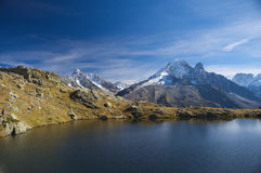 Summer high mountain lanscape royalty free stock photography