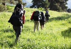Summer hike Stock Photos
