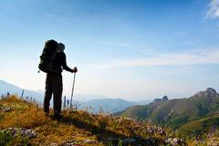 Summer hike Stock Images