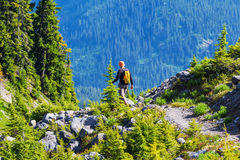 Summer hike Royalty Free Stock Images