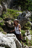 Summer hiking Royalty Free Stock Photo