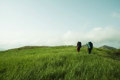 Summer hiking Royalty Free Stock Photography