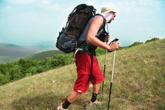 Summer hiking Royalty Free Stock Photo