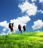 Summer hiking Royalty Free Stock Images
