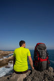 Summer hiking. Royalty Free Stock Photo