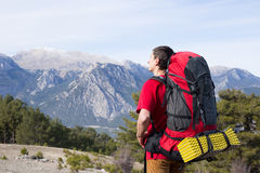 Summer hiking in the mountains. Stock Photography