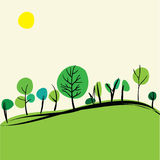 Summer on hills Royalty Free Stock Photos