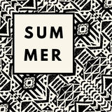 Summer hipster boho background Stock Photo