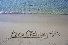 The Summer Holiday Stock Images