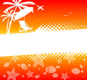 Summer holiday abstract background Royalty Free Stock Photos