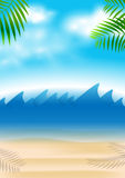 Summer holiday background Royalty Free Stock Image
