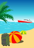Summer Holiday Background Royalty Free Stock Image